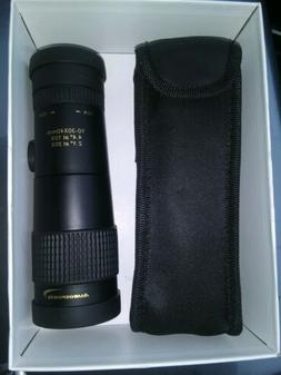 Aurosports 10-30x40 Zoom Monocular with BAK4 Prism Dual Focu