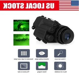 1080P Hunting Infrared IR Monocular Night Vision Telescope F