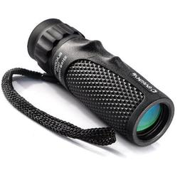 Barska 10x25 Blackhawk Waterproof Hunting Monocular with Roo
