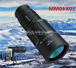 10x40 optical lens high definition high power