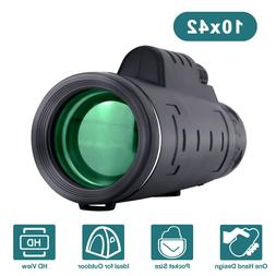 10x42 Monoculars Telescopes for Kids Adults Professional HD