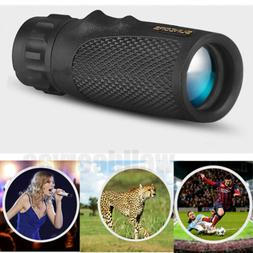 12x25 Pocket Compact Monocular Telescope Outdoor Survival Hu