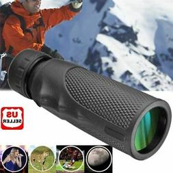 12x25 Pocket Compact Monocular Telescope Outdoor Survival Hu