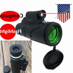 12x50 compass flashlight infrared distance nightvision monoc