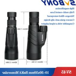 SVBONY 12x50 Monocular BaK4 Prism Fully Multi-coated Waterpr