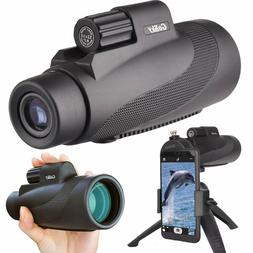 Gosky 12x50 Monocular Telescope-HD Waterproof/Fog-Proof/Shoc