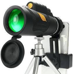 12x50 Powerful Monocular Telescope Pocket Zoom Scope Smart P