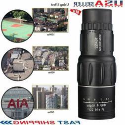 16X52 Dual Focus Monocular Telescope 16x Zoom Binoculars 66M