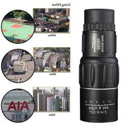 16X52 Dual Focus Monocular Telescope16x Zoom Binoculars 66M/