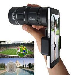 16X52 HD Optical Dual Focus Day&Night Vision Monocular Hunti