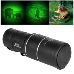 16X52 HD Optical Dual Focus Monocular Day/Night Vision Campi