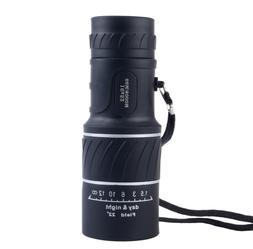 16X52 HD Optical Dual Focus Monocular Day Night Vision Teles