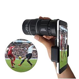 - Waterproof Monoculars with Phone Clip for Cell Phone- for