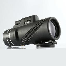 ARCHEER 16x52 Optics Zoom Monocular  Dual Focus Telescope Da