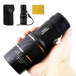 16X52 Zoom HD Telescope Monocular Lens Camping Hiking Optica