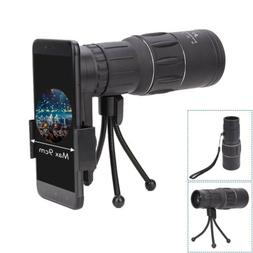 Optical HD Monocular Telescope+Clip 16X52 Zoom for Outdoor T