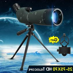 🔥 25-75X70 Zoom Waterproof Monocular Telescope BAK4 Spott