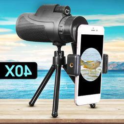 40X60 Zoom Monocular Telescope Telephoto Camera Lens + Phone