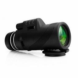 40x60 Dual Focus Zoomable Monocular Telescope Outdoor Surviv