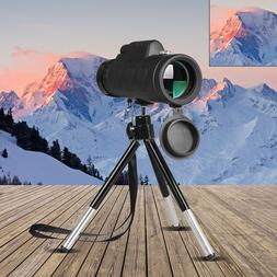 40X60 <font><b>Monocular</b></font> Telescope Wide Angle HD