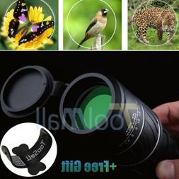 40x60 HD Optical Monocular Telescope Day & Night Vision For
