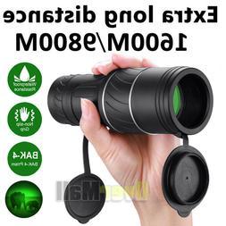 40X60 HD OPTICS BAK4 Night Vision Monocular High Power Teles