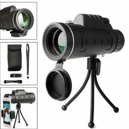 40x60 HD Zoom Optical Monocular Telescope Lens Observing Sur