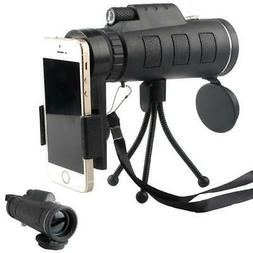 40x60 High Power Magnification Monocular Scope Telescope wit