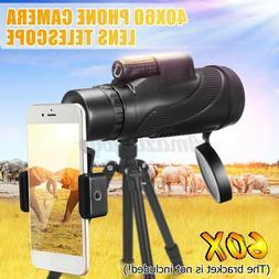 40x60 Telescope Day & Night Vision Optical Monocular Hunting