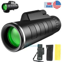 40x60 Zoom HD Monocular Starscope W/ Night Vision Telescope