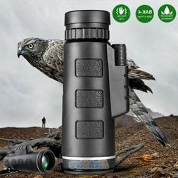 40X60 Zoom High Power HD Vision Monocular Telescope Optical