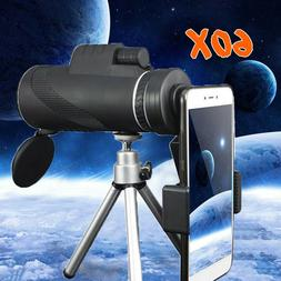 40x60 zoom monocular hd telescope telephoto camera