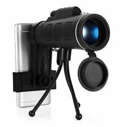 40X60 Zoom Monocular Telescope Scope for Smartphone Camera C