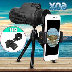 40X60 Zoom Monocular Telescope Telephoto Phone Camera Lens T