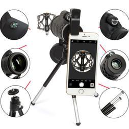 40X60 Zoom Optical Lens Monocular Telescope + Tripod + Clip