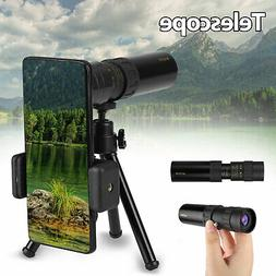 4K 10-300X30mm Super Telephoto Lens Zoom Monocular Telescope