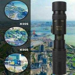 4K 10-300X40mm Super Telephoto Zoom Monocular Telescope W/ T