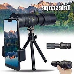 4K 10-300X40mm Super Telephoto Zoom Monocular Telescope with