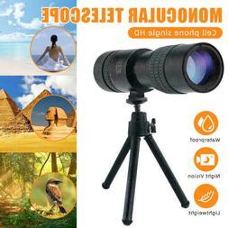 4K 10-300X40mm Super Telephoto Zoom Monocular Binoculars Poc