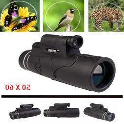 50X60 Magnification Zoom Optical Phone Prism Monocular Teles