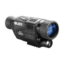 5X40 Digital Night Vision Monocular Camera Video HD Infrared