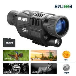 5x40 night vision monocular infrared ir camera