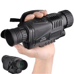 5x40mm Digital Monocular Night Vision-Infrared IR Camera wit