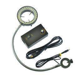 60 LED Adjustable Ring Light Side Light Microscopes illumina