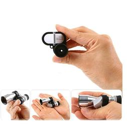 8x20mm mini monocular telescope pocket size portable