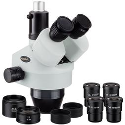 3.5X-90X Trinocular Zoom Power Stereo Microscope Head