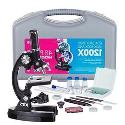 AmScope-KIDS 120X-240X-300X-480X-600X-1200X Educational Begi