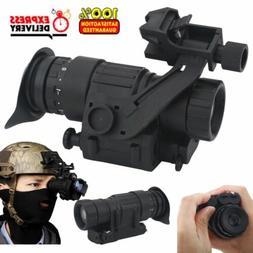 Waterproof Infrared IR HD Monocular Night Vision Helmet Tele