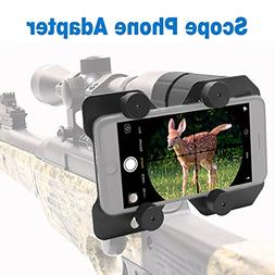 Faittoo Hunting Scope Cam Adapter Rifle Scope Phone Camera M