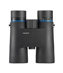 MINOX BLU 10x42 Binocular - 10x Magnification w/Makrolon Hou